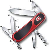 Victorinox Evolution Grip 10 Swiss Army Knife