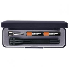 Maglite Mini AAA with Batteries and Gift Box - Black