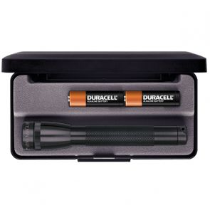 Maglite Mini AA with Batteries and Gift Box - Black