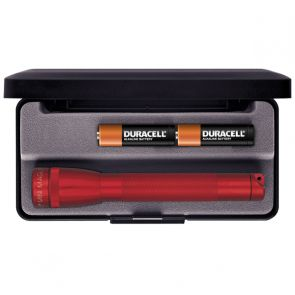 Maglite Mini AA with Batteries and Gift Box - Red