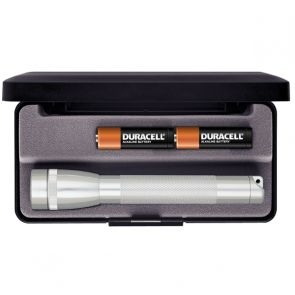 Maglite Mini AA with Batteries and Gift Box - Silver