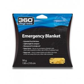 360 Degrees Emergency Blanket