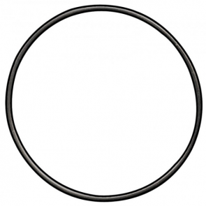 Maglite MagCharger Tail Cap O-Ring Replacement Part - Version 1 - Black