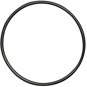 Maglite Solitaire Barrel O-Ring Replacement Part - Black