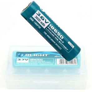 Olight 18650 3.6V Rechargeable Battery - 3600mAh