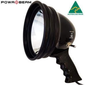 Powa Beam 145mm QH Adjustable Focus Hand Held Spotlight - 100W