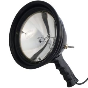 Powa Beam Sealed Beam 145mm QH Hand Held Spotlight - 100W