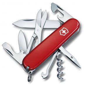 Victorinox Climber Swiss Army Knife - Red