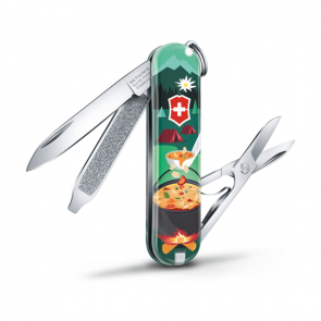 Victorinox Classic SD 2019 Limited Edition Swiss Army Knife - Swiss Mountain