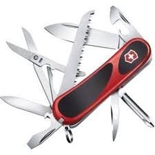 Victorinox Evolution Grip 18 Swiss Army Knife - Red