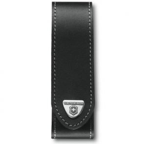 Victorinox 130mm 2-3 Layers Ranger Grip Leather Belt Pouch - Black