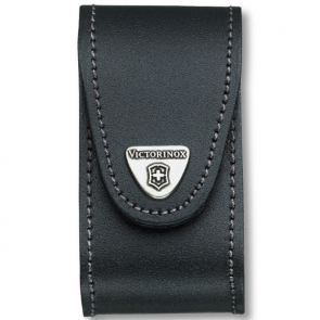 Victorinox 91mm 5-8 Layers Leather Belt Pouch - Black