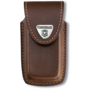 Victorinox 91mm 5-8 Layers Leather Belt Pouch - Brown