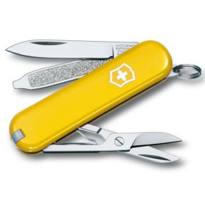 Victorinox Classic SD Swiss Army Knife - Yellow