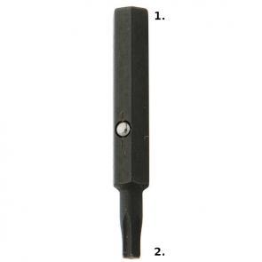 Victorinox CyberTool 4mm Hex / T8 Torx Bit Replacement Part
