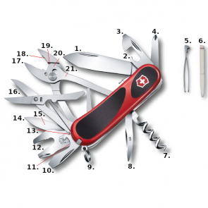 Victorinox Evolution Grip S557 Swiss Army Knife