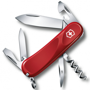 Victorinox Evolution 10 Swiss Army Knife - Red